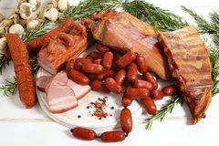 Free Delicious Smoked Pork Meat Royalty Free Stock Photography - 32838997