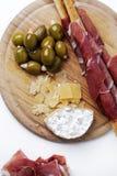 Delicious snacks Stock Photo