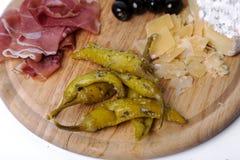 Delicious snacks Stock Photos