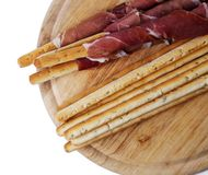 Delicious snacks Royalty Free Stock Images