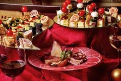 Delicious  snacks Stock Image
