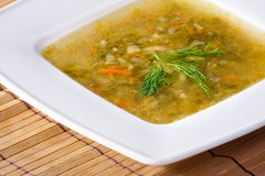 Delicious soup Royalty Free Stock Photography