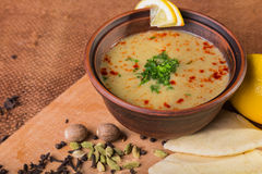 Delicious soup royalty free stock images