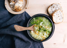 Delicious soup Stock Images