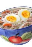 Delicious sour soup Stock Photo
