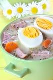 Delicious sour soup Stock Images