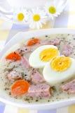 Delicious sour soup Stock Image