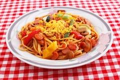 Delicious spaghetti Royalty Free Stock Photo