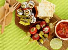 Delicious Spanish Snacks Royalty Free Stock Photos