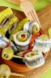 Delicious Spanish Snacks Stock Photography