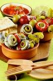Delicious Spanish Snacks Stock Image
