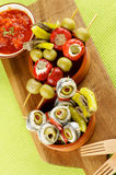 Delicious Spanish Snacks Royalty Free Stock Photography