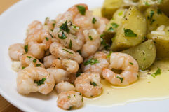 Delicious spanish tapa Royalty Free Stock Images