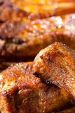 Delicious spicy barbecue ribs Royalty Free Stock Photography