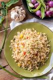 Delicious spicy fried rice ready to eat Stock Photography