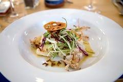 Delicious squid salad Royalty Free Stock Image
