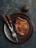 Delicious steak Royalty Free Stock Image