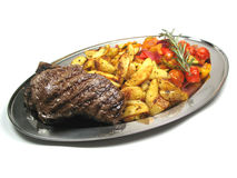 Delicious steaks Royalty Free Stock Images