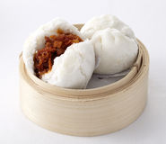 Delicious steamed buns Stock Photos