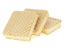 Delicious step wafer Stock Image