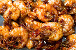 Delicious Stir Fry Prawn Stock Images