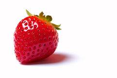 Delicious strawberrie. Isolated on white Royalty Free Stock Image