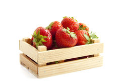 Delicious strawberries Stock Image