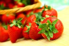 Delicious strawberries Stock Photo