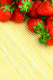 Delicious strawberries Stock Images