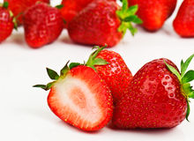 Delicious strawberries Royalty Free Stock Photography