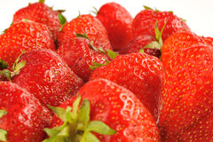 Delicious strawberry Stock Images