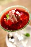 Delicious Strawberry Desert Stock Photos