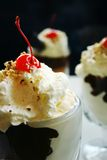 Delicious sundae Royalty Free Stock Images
