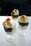 Delicious sundaes Royalty Free Stock Image