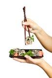 Delicious sushi Stock Photo