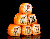 Delicious sushi Royalty Free Stock Photos