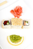 Delicious sushi Stock Images