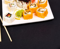Delicious sushi Royalty Free Stock Images