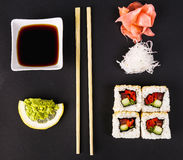 Delicious sushi Stock Image