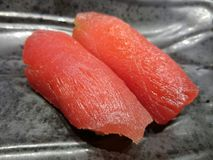 Delicious Sushi. Maguro tuna sushi Royalty Free Stock Image