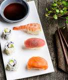 delicious sushi meal Royalty Free Stock Image