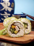 Delicious sushi roll Royalty Free Stock Photo