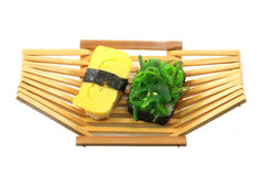 Delicious sushi rolls Royalty Free Stock Photo