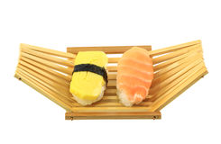 Delicious sushi rolls Royalty Free Stock Image