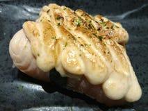 Delicious Sushi. Salmon mentai sushi Stock Images
