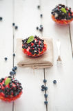Delicious and sweet blueberry cookie Royalty Free Stock Photos