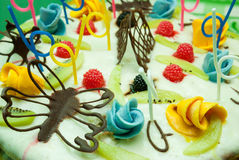 Delicious Sweet Cake Royalty Free Stock Images