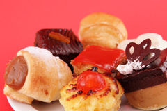 Delicious sweet confectionery Royalty Free Stock Photography