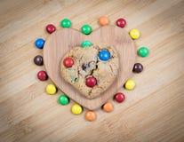 Delicious sweet cookie Stock Photos