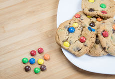 Delicious sweet cookies Royalty Free Stock Photo